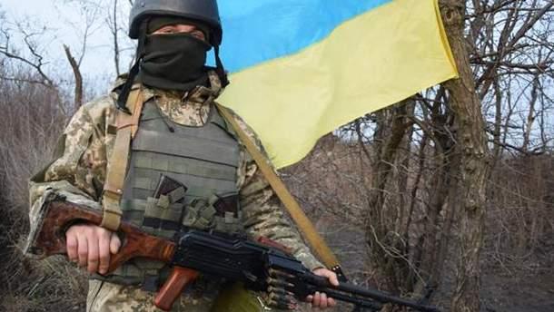 Ситуация на Донбассе: среди украинских военных есть раненые