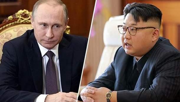 Кім Чен Ин хоче зустрічі з Володимиром Путіним