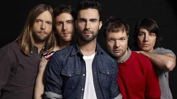 Maroon 5 випустили нову пісню
