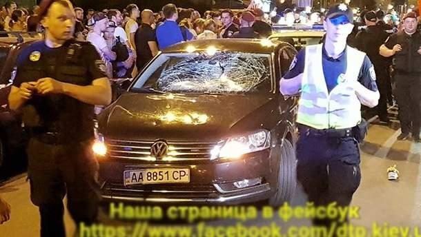ДТП с кортежем в Киеве