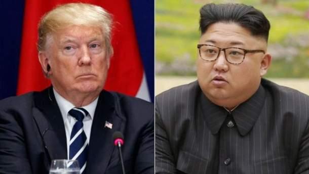 Трамп хоче зустрітися з Кім Чен Ином віч-на-віч