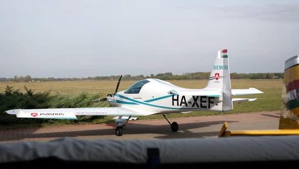 Легкомоторний літак eFusion розбився в Угорщині