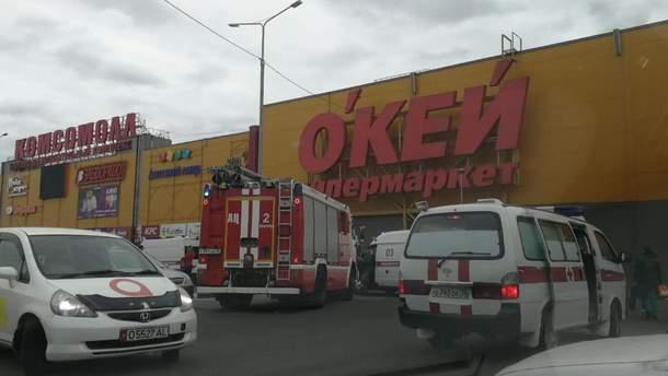 В результате взрыва в ТРЦ в Иркутске пострадали дети
