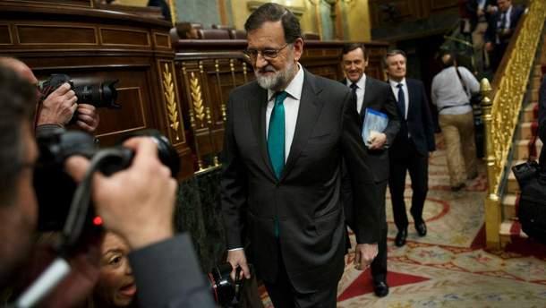 Маріано Рахой бівльше не очолюватиме уряд Іспанії
