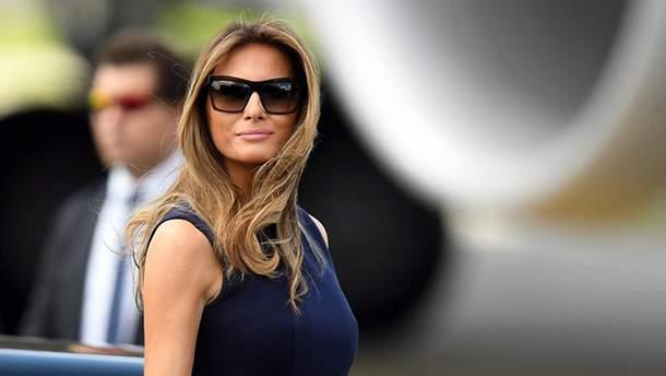 Меланія Трамп звернулась до журналістів