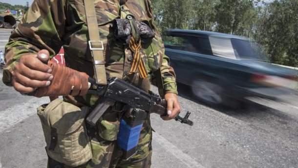 Пророссийские боевики на Донбассе планируют брать в плен украинских военных