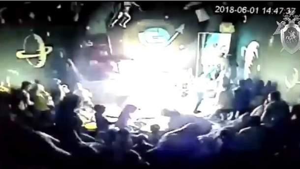 Взрыв в Иркутске 1 июня 2018 в ТРЦ Комсомол