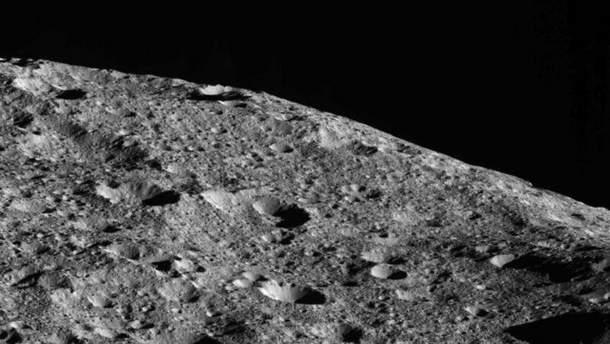 Поверхность карликовой планеты Цереры