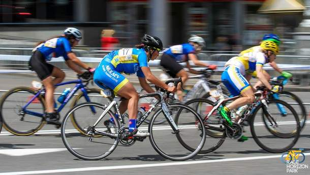Велогонки у Києві