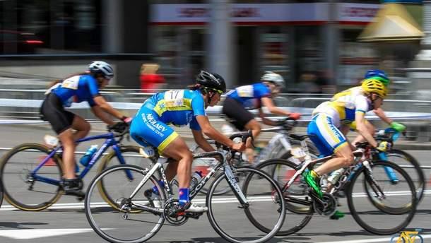 Велогонки в Киеве