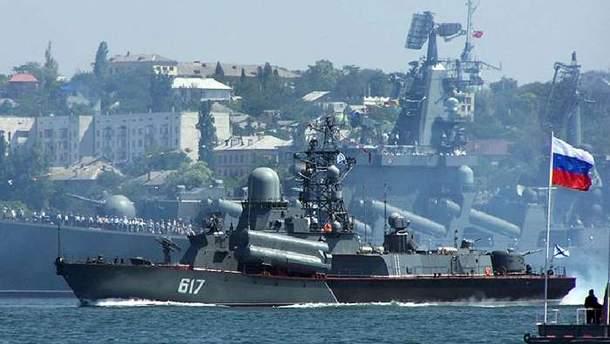 Россия может готовиться к нападению на Украину, о чем свидетельствует увеличение военных судов в Азовском море