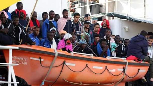 Порятунок мігрантів