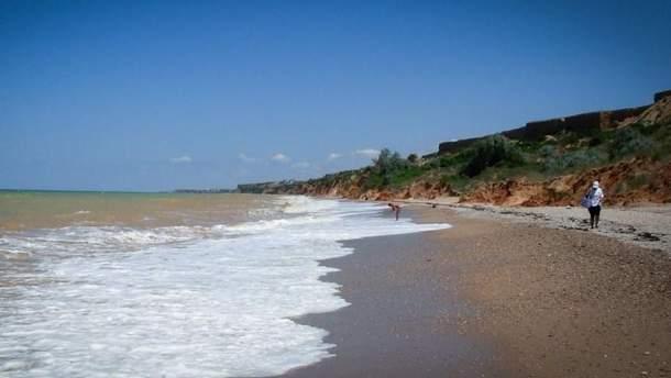Пустые пляжи Крыма