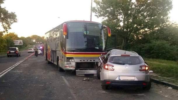 В Ровно съемочная группа попала в смертельную аварию