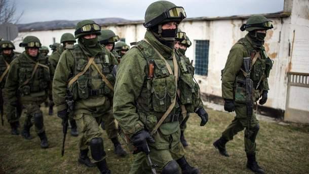 На территорию оккупированной Луганщины зашло подразделение Вооруженных сил России