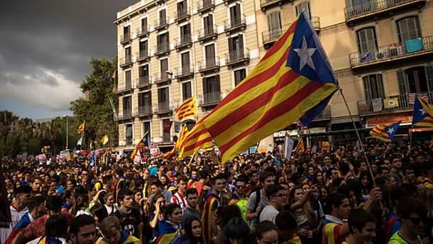 Каталония вышла из-под прямого правления Мадрида
