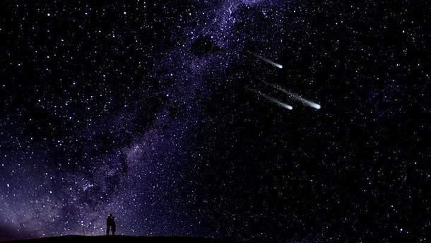 Невероятное зрелище: в Китае зафиксировали падение метеорита