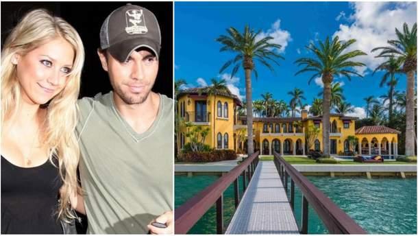 Енріке Іглесіас з дружиною продає розкішний маєток в Маямі