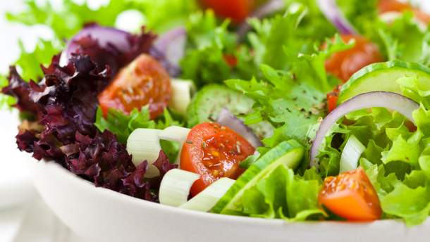 Рецепти легких салатів