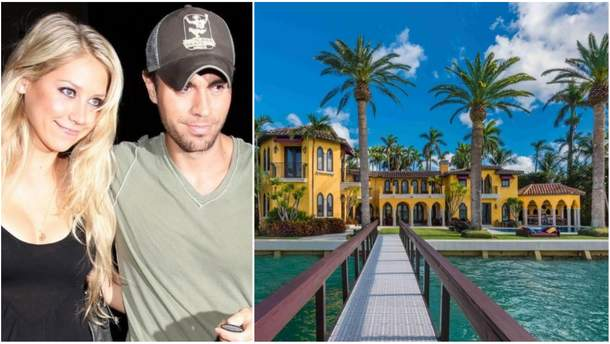 Энрике Иглесиас с женой продают роскошный особняк в Майами