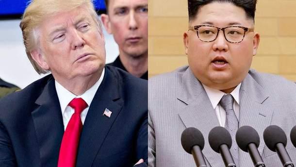 Зустріч Трампа з Кім Чен Ином запланована на 12 червня у Сінгапурі