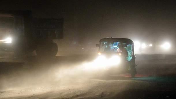 Піщані бурі в Індії