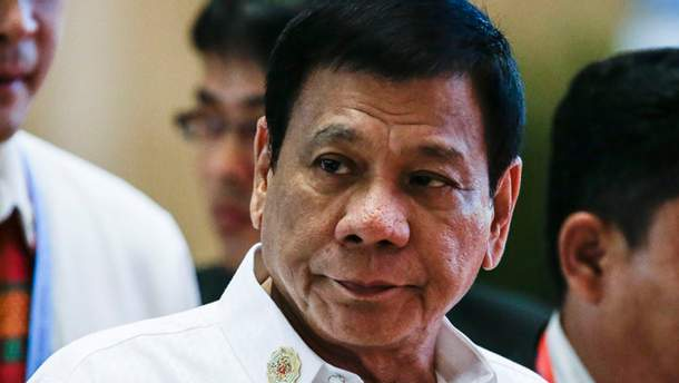 Президент Філіппін Родріго Дутерте незадоволений заявою представника ООН