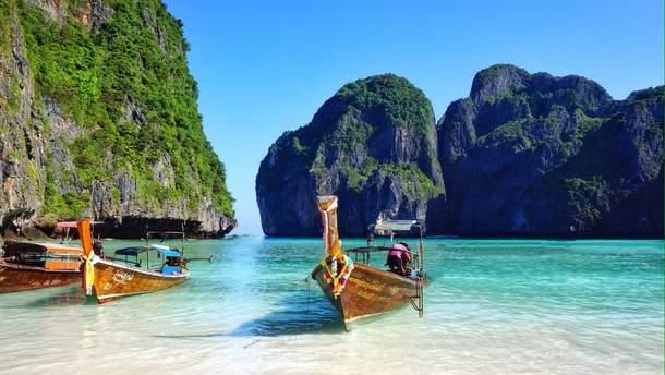 Таїландський пляж Майя Бей закриють на деякий час