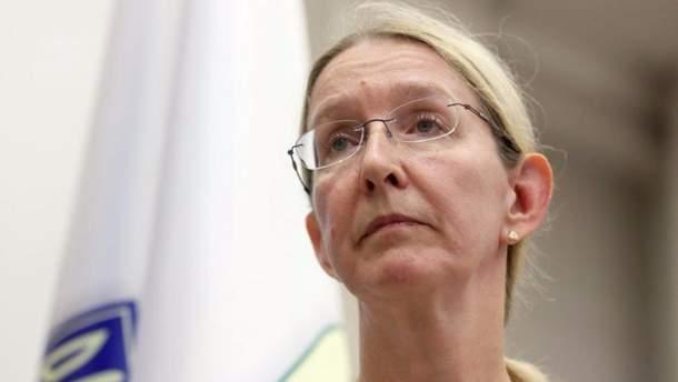 Супрун опублікувала лист до РФ з вимогою допустити до політв'язнів міжнародних лікарів