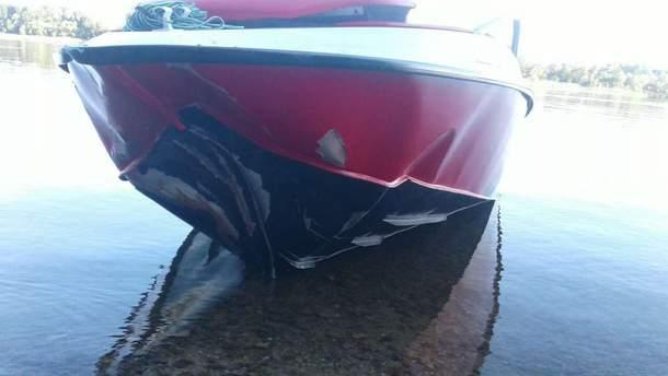 На Херсонщине на воде столкнулись две моторные лодки