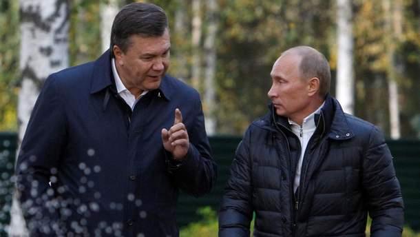 """Виктор Янукович в книге Шустера изображается как настоящий раб Путина, который все же иногда давал отпор и пытался показать российскому коллеге, """"кто в доме хозяин"""""""