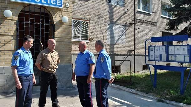 Полиция в Волновахе