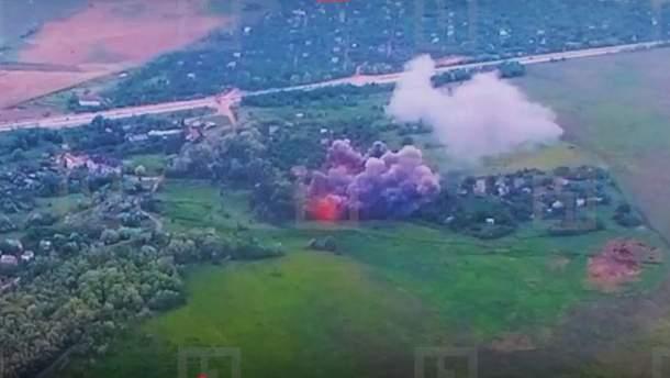 Казанський показав доказ обстрілу бойовиками селищ на Донбасі