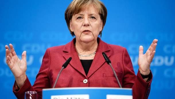 Меркель підтримує створення сил швидкого реагування в Європі