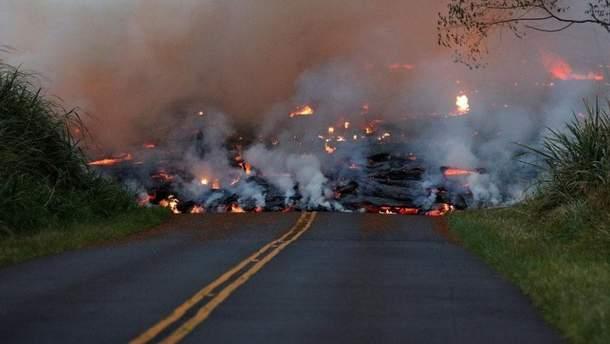 Извержение вулкана Фуэго, июнь 2018