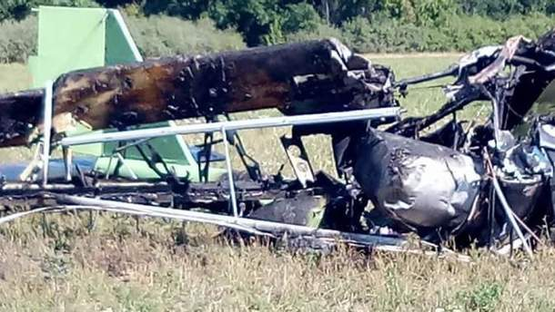 У Росії розбився легкомоторний літак