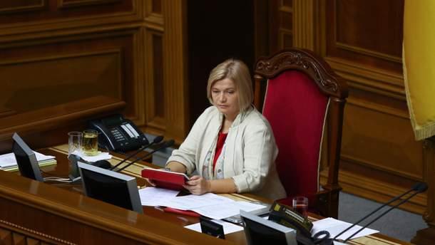 Геращенко предлагает создать реестр попавших вплен украинских журналистов