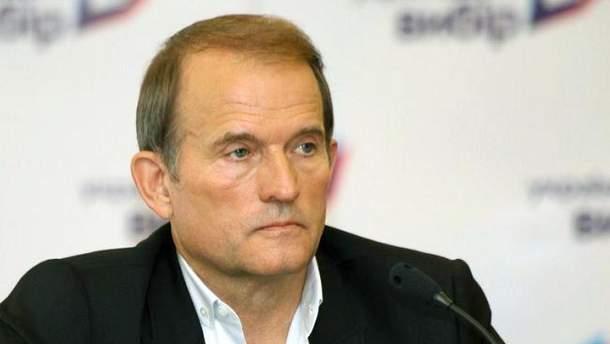 Политик Виктор Медведчук