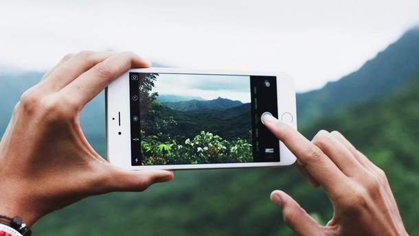 Створення фотографій на смартфон негативно впливає на пам'ять