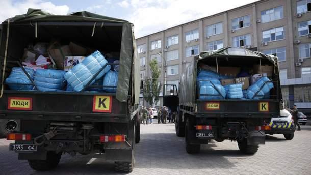 Латвія передала 12 тонн гуманітарної допомоги для Луганської області