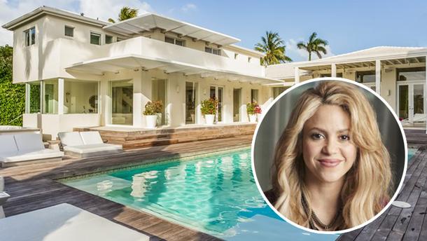Шакира продает дом в Майами