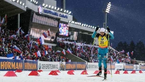 Росії заборонили проводити етапи кубка світу з біатлону сезону 2019/2020