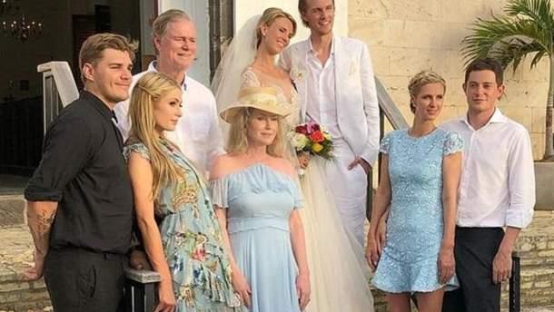Свадьба Баррона Хилтона
