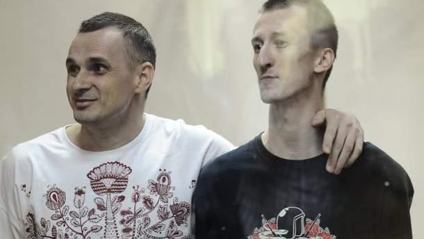 Сенцов против голодания Кольченко