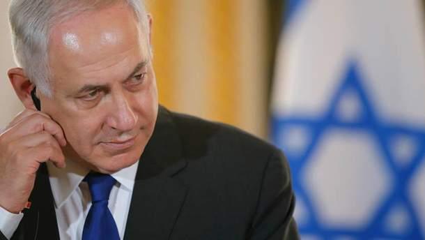 Прем'єр Ізраїлю висловився про конфлікт на Близькому Сході