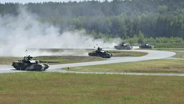 Украинские танки принимают участие в международных соревнованиях Strong Europe Tank Challenge 2018