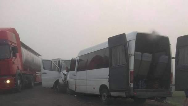 Смертельная авария с маршруткой в Одесской области
