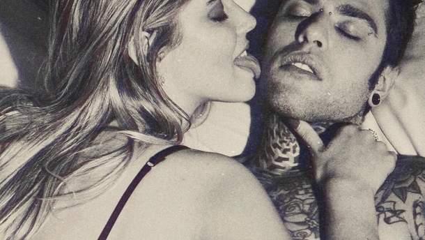 Кьяра Ферраньи и Fedez снялись в эротической фотосессии