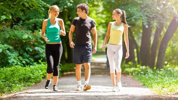 Оптимально проходити 10 тисяч кроків щодня