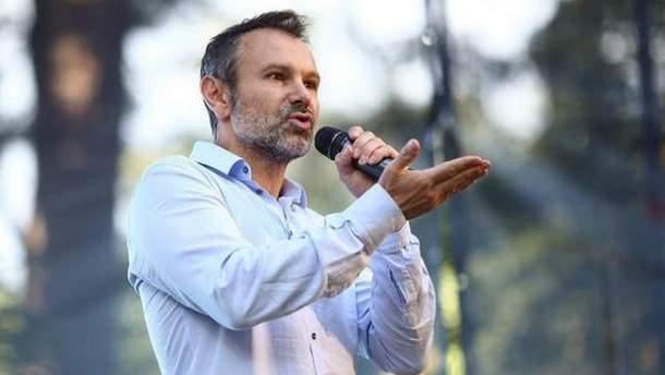 Святослав Вакарчук ухилився від прямої відповіді на питання про плани щодо президентства